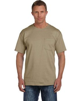Fruit of the Loom 3931P Cotton Pocket T-Shirt