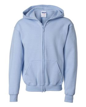 Gildan 18600B Youth Zip Hood - Shop at ApparelnBags.com