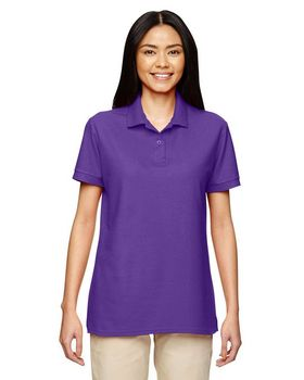 Gildan 72800L Women DryBlend Double Pique Polo Shirt
