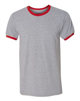 Gildan 8600 DryBlend Ringer T-Shirt - Shop at ApparelnBags.com