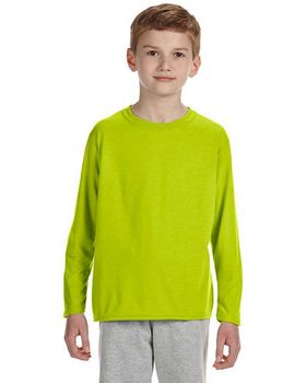 Gildan G424B Youth Performance Long Sleeve T Shirt