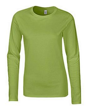 Gildan G64400L Ladies Long Sleeve Tee