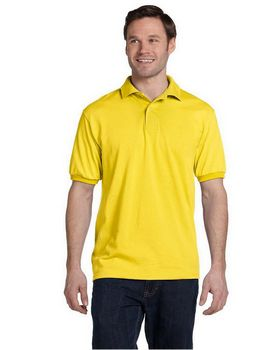 Hanes 054 50/50 Jersey Knit Polo - Shop at ApparelnBags.com
