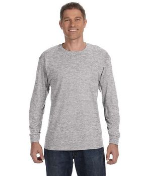 Hanes 5586 Tagless Long Sleeve T Shirt