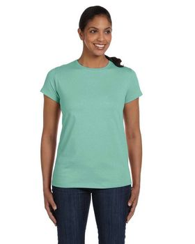 Hanes 5680 Ladies ComfortSoft Cotton T Shirt