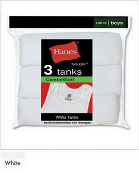 Hanes B3723N Boys Red Label Tanks - Shop at ApparelnBags.com