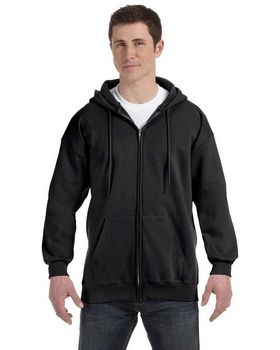 Hanes F280 PrintProXP Full-Zip Hood - Shop at ApparelnBags.com