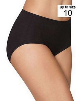 Hanes K340AS Smooth Brief Panties 3-Pack
