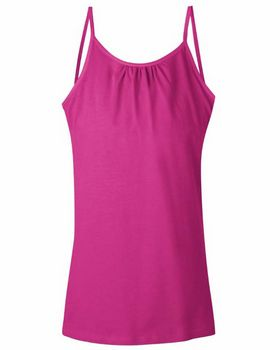 Hanes K702 Girls Cami With Shelf Bra - Shop at ApparelnBags.com