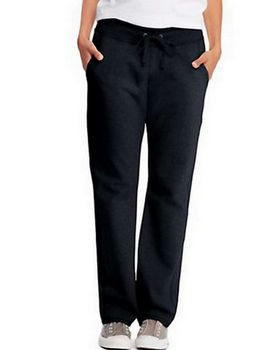 Hanes O4677 Womens French Terry Pocket Pant
