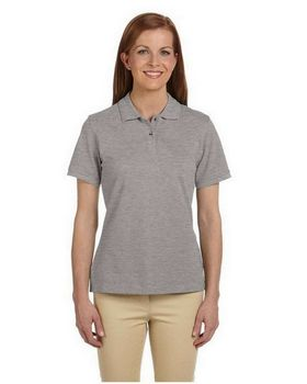 Harriton M200W Ladies Ringspun Cotton Pique S-Sleeve Polo