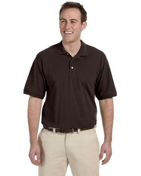 Harriton M265 Men's Easy Blend Polo - Shop at ApparelnBags.com