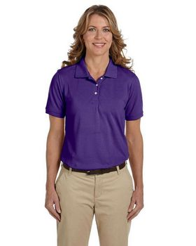 Harriton M265W Ladies Easy Blend Polo - Shop at ApparelnBags.com