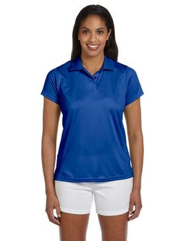 Harriton M315W Women's Polytech Polo