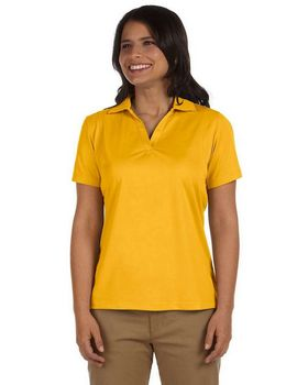 Harriton M354W Women's Micro Pique Polo
