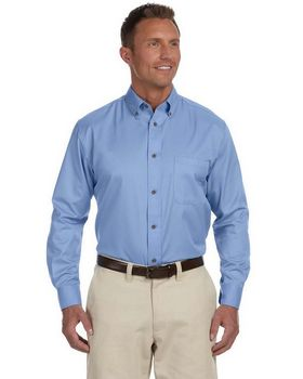 Harriton M500 Men's Easy Blend Twill Shirt