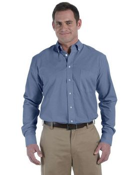 Harriton M555 Mens Chambray Shirt