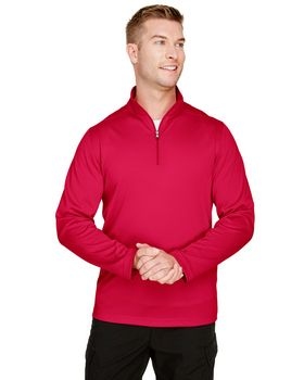 Harriton M748 Mens Advantage Snag Protection Plus Quarter-Zip