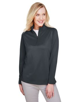 Harriton M748W Ladies Advantage Snag Protection Plus Quarter-Zip