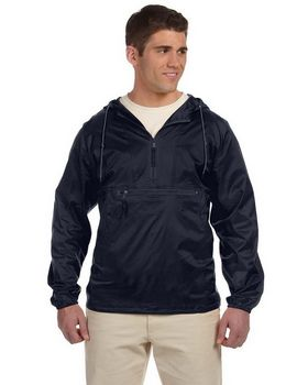 Harriton M750 Men's Packable Nylon Jacket