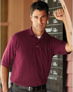 Harvard Square HS110 100% Heavy Cotton Pique Sport Shirt