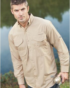 Hilton LSFISH Long Sleeve Fishing Shirt