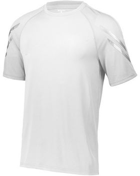 Holloway 222506 Unisex Dry-Excel Flux Short-Sleeve Training Top