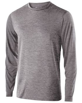 Holloway 222525 Men's Polyester Long Sleeve Gauge Shirt