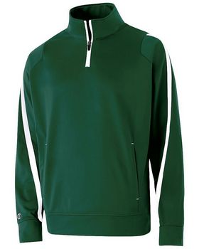 Holloway 229192 Adult Polyester 1/4 Zip Determination Pullover