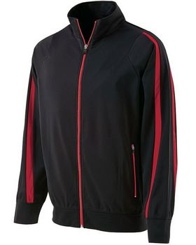 Holloway 229242 Youth Polyester Full Zip Jacket