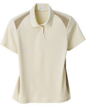 Il Migliore 75054 Ladies Recycled Polyester Performance Honeycomb Block Polo