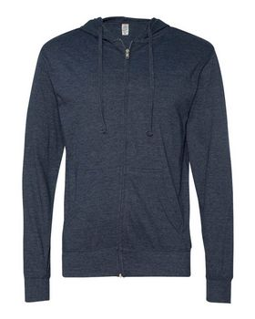 Independent Trading Co. SS150JZ Hooded Full-Zip T-Shirt