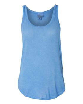 J America 8133 Womens Oasis Wash Tank Top