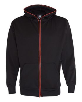 J America 8668 Glow Full Zip Hood - Shop at ApparelnBags.com
