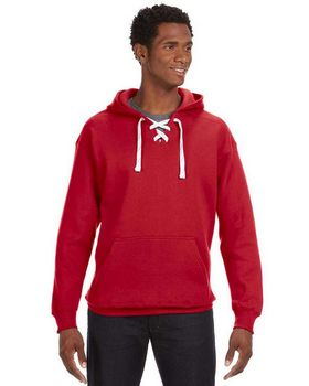 J America J8830 Hockey Hood SweatShirt - Shop at ApparelnBags.com