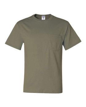Jerzees 29MPR Dri-Power 50/50 T-Shirt with a Pocket