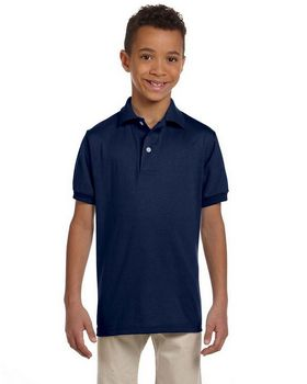 Jerzees 437Y Youth 50/50 Jersey Polo with SpotShield
