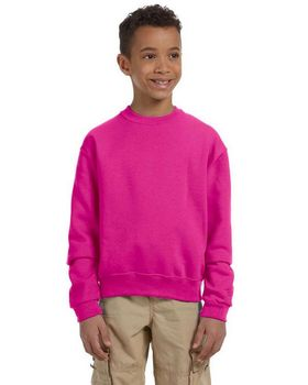 Jerzees 562B Youth 50/50 Crew Neck - Shop at ApparelnBags.com