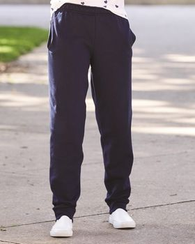 Jerzees 975YR Youth Nublend Youth Fleece Jogger
