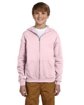Jerzees 993B Youth 50/50 Full-Zip Hood