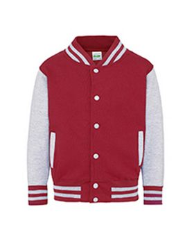 Just Hoods By Awdis JHY043 Youth 80/20 Heavyweight Letterman Jacket