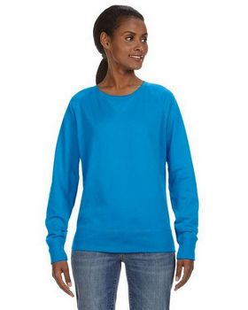Lat 3762 Ladies Slouchy Pullover
