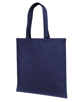 Liberty Bags LB85113 12 oz. Cotton Canvas Tote Bag With Self Fabric Handles