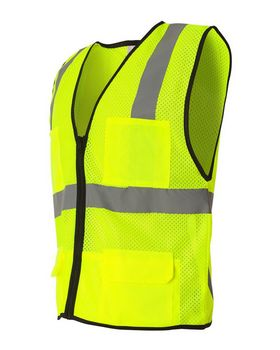 Ml Kishigo 1191-1192 Economy Six Pocket Mesh Vest