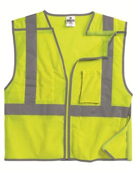 Ml Kishigo 1505-1506 Brilliant Series Economy Breakaway Vest