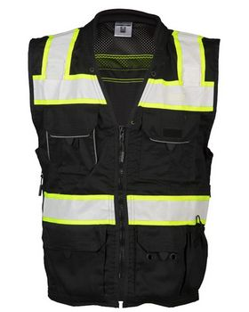 Ml Kishigo B500 Enhanced Visibility Professional Utility Vest