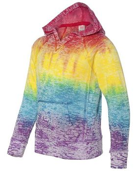 Mv Sport W1162Y Girls Courtney Pullover Hood