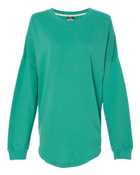 Mv Sport W15108 Womens Athena French Terry Dolman Sleeve Sweatshirt