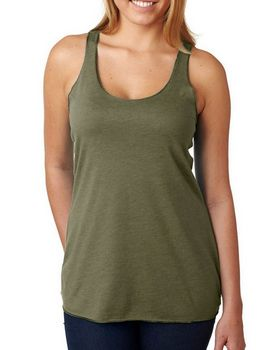 Next Level 6733 Tri Blend Racerback Tank