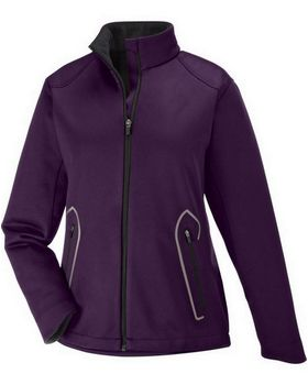 North End 78655 Women Splice Light Bonded Soft Shell Jacket
